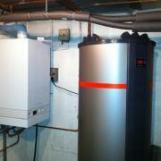 Chaudière et chauffe-eau 500 litres