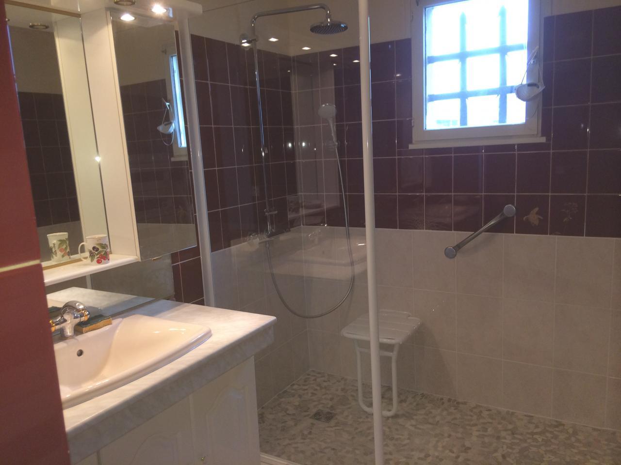 Salle de bains - Barre de maintien salle de bain ...